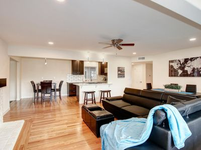 Photo for Relaxing family getaway with pool, outdoor bar, and game room with pool table