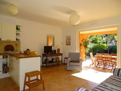 Photo for Mazet 4pers. + Garage, 350m from the beach