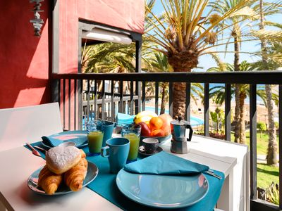 Photo for Luxury Bungalow Seaview-Sun Club-Maspalomas-Playa del Ingles-