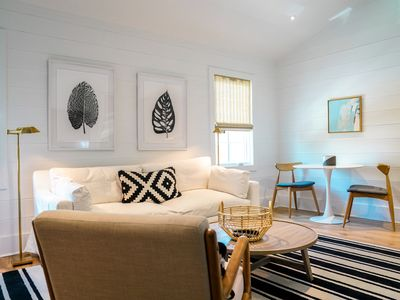 Photo for Custom California Vibe Carriage House in Seagrove