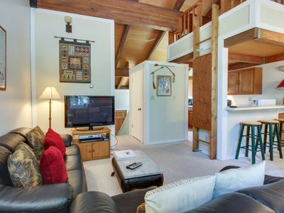 Photo for Northstar condo w/free shuttle to skiing, pools & hot tub!