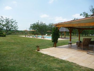 Photo for Charming house, superb private pool, 8 people, classified 3 *