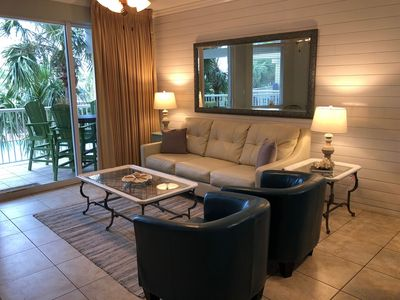 Photo for Gulfside 210 ~ 2BR plus bunkroom w/Ocean & Pool Views ~ Fully Remodeled in Aug 2018!