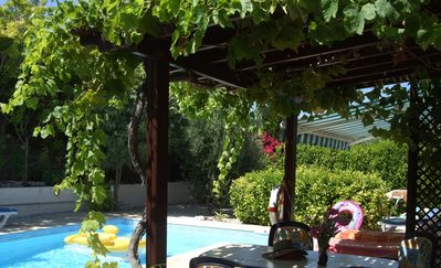 Photo for Luxury 3 bed villa with private heated and secluded pool set in large garden