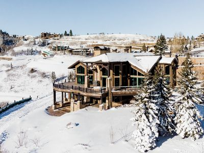 Photo for REDUCED WINTER RATE! Ultra luxury chalet in gated ski-in, ski-out community with game room, bar, and
