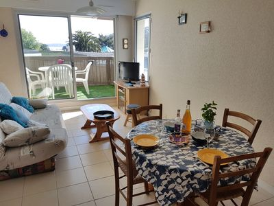 Photo for For 4 people, apartment, with seaside view, the beach and 7 islands
