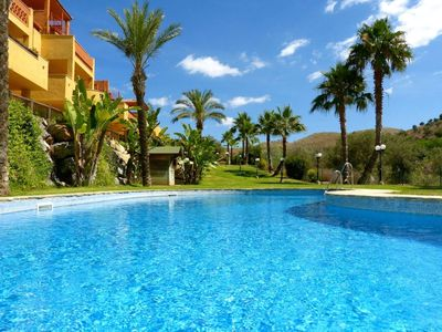 Photo for Tranquil secluded 2 bed apartment, La Reserva de Marbella.