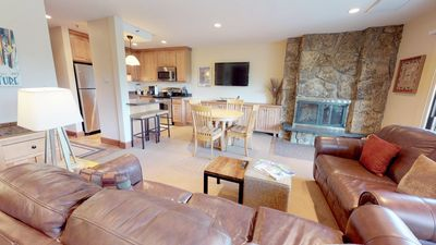 Photo for Updated ski-in/ski-out condo w/ pool & hot tub access!