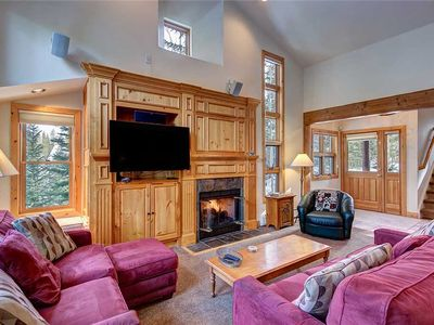 Photo for White Wolf 272: 3 BR / 3.5 BA townhome in Breckenridge, Sleeps 11