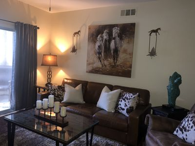 Photo for Adorable 1 Bedroom 1 Bath condo with ALL NEW FURNISHINGS!