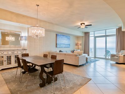 Photo for Spectacular Turquoise Place! Oversized 3/3.5 beach front condo; hot tub on deck!