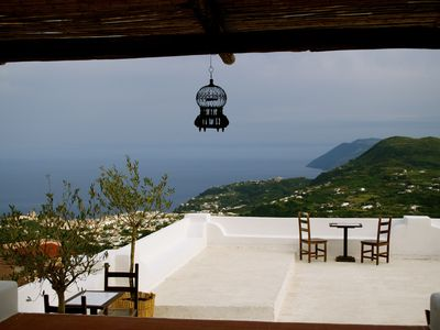 Photo for The Gelso panoramic house in Villa Paradiso. Lipari