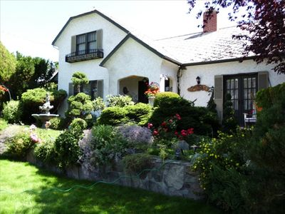 Photo for A Jewel in Penticton a Charming 1920 Heritage Luxury Suite with Private Outdoor
