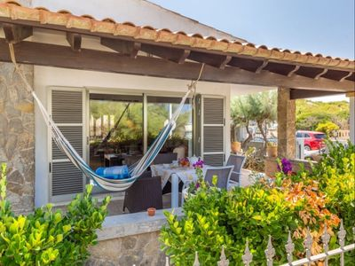 Photo for Spacious Sea Side Cottage apartment in Son Serra de Marina with WiFi, private parking, private terr…