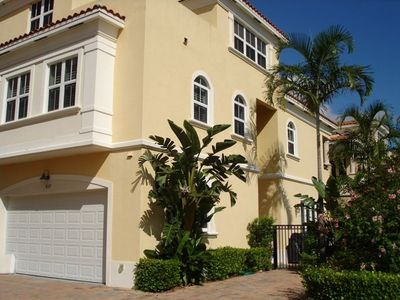 Large garage and reserved exterior parking spot. Gated entry.