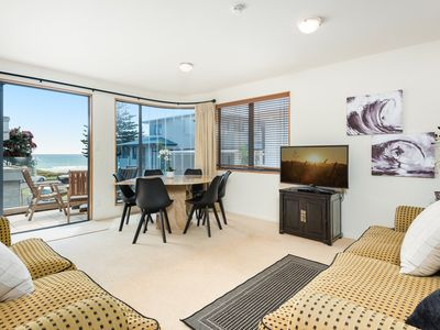 Photo for Beach front Townhouse in Mt Maunganui