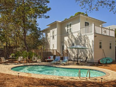 Photo for ~Close to beach ~ South of 30a~Refined Interior~Private Heated Saline Pool ~