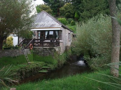 Cottage and Mill Pond