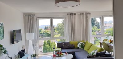 Photo for Exclusive 5-star apartment with fantastic panoramic views over the Saar Valley .....