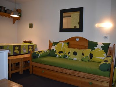 Photo for 22Beautiful apartment for 4 to 6 people max-30m² - At the ski slopes - Wifi