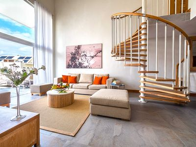 Photo for Beautiful and private 3 bedroom penthouse in Bain Boeuf by Horizon Holidays