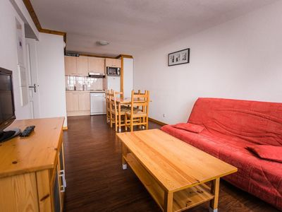 Photo for Surface area : about 44 m². Living room with bed-settee. Bedroom with double bed
