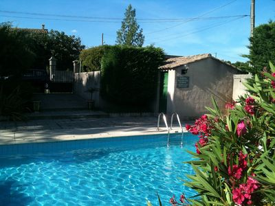 Photo for Beautiful Old Property With Private Courtyard And Own Pool In A Safe Garden