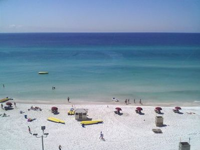 View of beach from The Summit