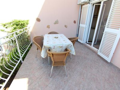 Photo for Apartment in the center of Rovinj with Air conditioning, Parking, Terrace (517490)