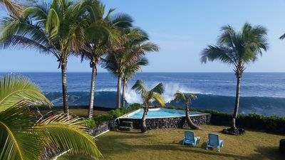 Photo for Oceanfront/2 Story/Pool/Whales/Sea Turtle