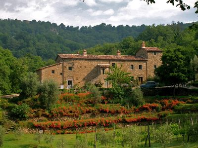 Photo for Beautiful Restored Farmhouse on the border of Tuscany & Umbria