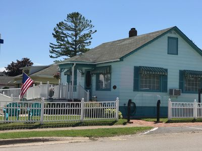 Photo for Huron Breeze Cottage - In the heart of Historic Mackinaw City