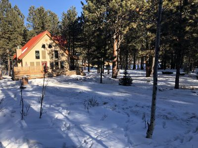 Photo for New! Beautiful & Cozy Chalet Home! Minutes from Angel Fire ski resort!
