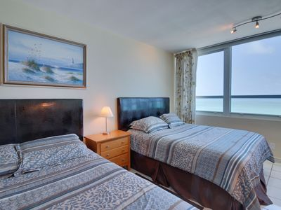 Photo for Ocean view studio with direct beach access and a shared pool & tennis court!