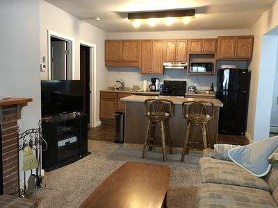 Photo for AVAILABLE Summer/fall 2019 Okemo Area 2 BR Condo, Fireplace/laundry/near shuttle
