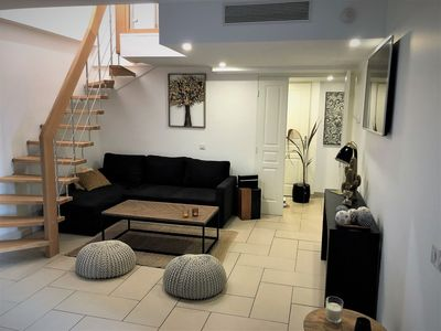 Photo for APART DUPLEX CLIMATISE WITH TERRACE IDEALLY LOCATED; 3 BEDROOMS 2 bathrooms
