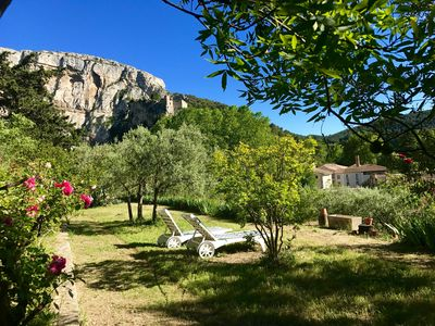 Photo for Charming village house in Provence @Fontaine de Vaucluse