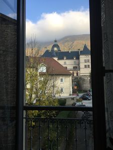 Photo for 1BR Apartment Vacation Rental in Vizille, Auvergne-Rhône-Alpes