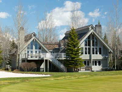 Photo for Wonderful House in Teton Pines with Pool