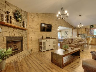 Photo for Private and secluded! 3 bedrooms sleeps 8. New Listing.