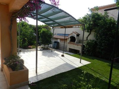 Photo for PRETTY LOW VILLA CLIMATISE .2 BEDROOMS. TERRACE AND GARDEN 40M2.