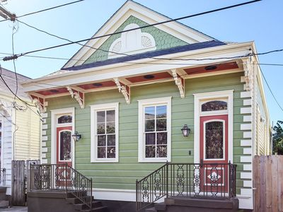 Photo for ★Historic Shotgun House★Steps from Magazine Street