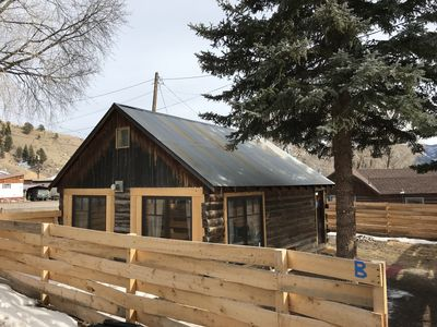 Photo for Fully renovated Guest Cabin in town, one block from large park and walking trail
