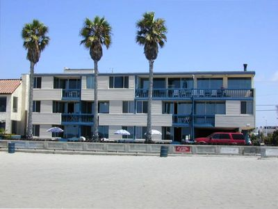Photo for South Mission Beach Oceanfront Vacation Rental