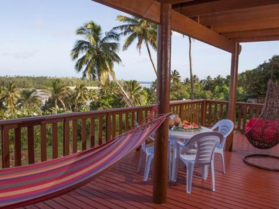 Photo for Stunning Views of Muri Lagoon - Muri Vista Villas