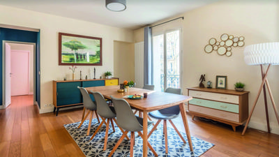 Photo for Large charming apartment between Bastille and the Marais