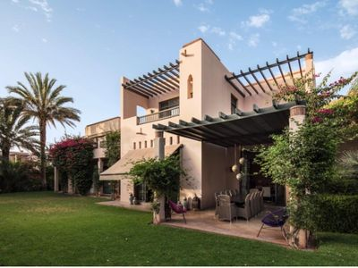 Photo for Private 4 BR Villa at Four Seasons Hotel, Marrakech