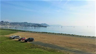 Photo for Apartment SEA VIEW with terrace / garden in PERROS-GUIREC