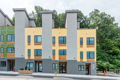 Exterior - Your rental is a quick walk from South Slope and all of downtown Asheville.