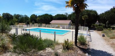 Photo for Comfortable apartment-garden-pool-TB placed